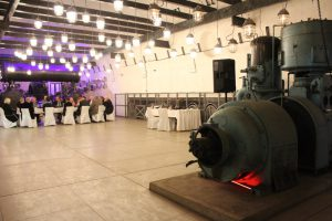 Das Bergwerksmuseum Guido bietet einen besonderen Ort für Veranstaltungen aller Art. © Natalie Junghof