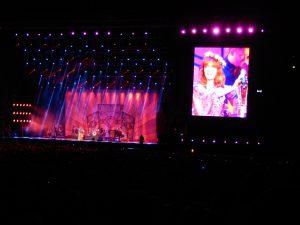 Im Nationalstadion: Florence And The Machine beim Orange Warsaw Festival 2014. © Natalie Junghof