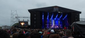 Rückblick: Hurts beim Orange Warsaw Festival 2014. © Natalie Junghof