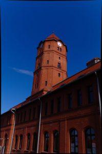Das ehemalige Hauptgebäude des Bergwerks Gliwice ist heute ein Bildungs- und Innovationszentrum. © Janina Rottmann