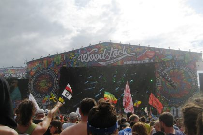 Katharina feierte auf dem Woodstock-Festival. © Katharina Gloe