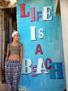 Izabella bei ihrem Thailand-Urlaub im Jahr 2014. © Izabella Meczykowski