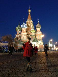 Weltmetropole Moskau: Izabellas letzte Reise im Jahr 2015. © Izabella Meczykowski