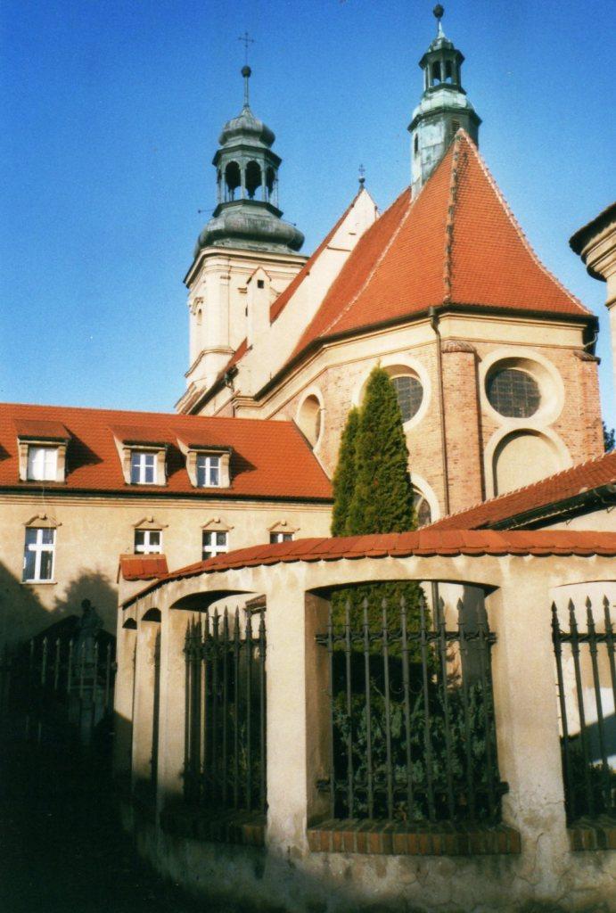 Das Franziskanerkloster in Wschowa. @ Jill-Francis Käthlitz