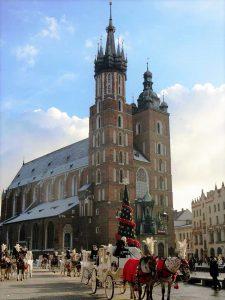 Die Krakauer Marienkirche. © Viktoria Samp