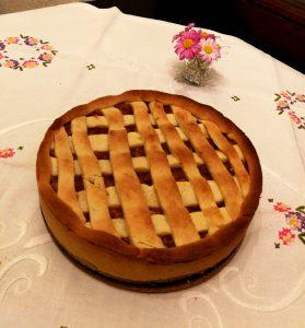 Apfelkuchen nach polnischem Rezept. © Charlotte Lohmann