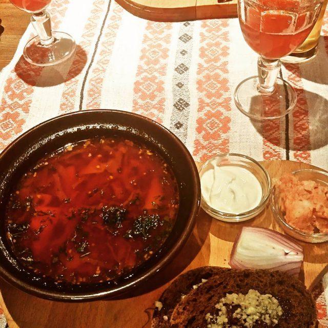 Barszcz ukraiski Einfach kstlich! Ukrainische rote Beete Suppe und Kompothellip