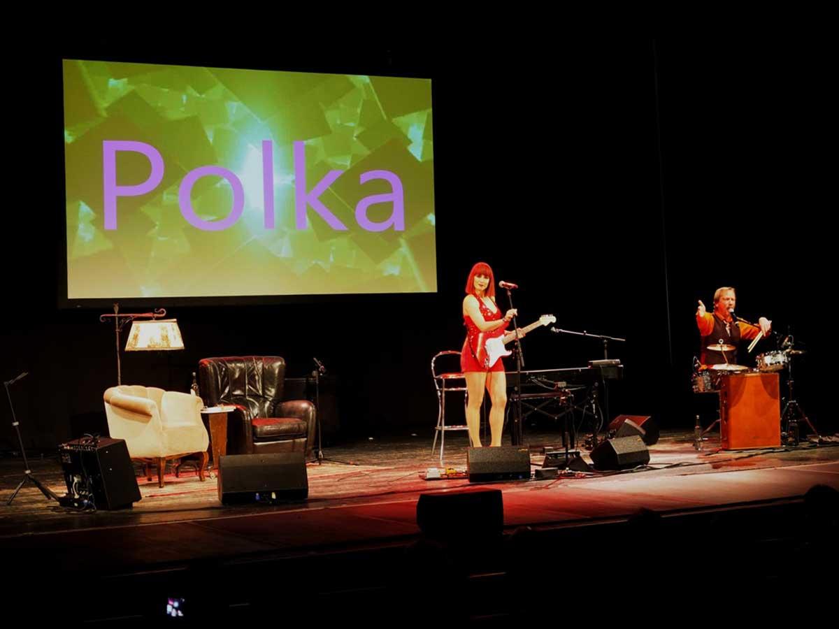 Polka-Power mit Dorota und Pawel Popolski. © Natalie Junghof