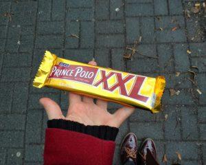 Die Hauptzutat ist die Schokoladen-Waffel. © Charlotte Lohmann