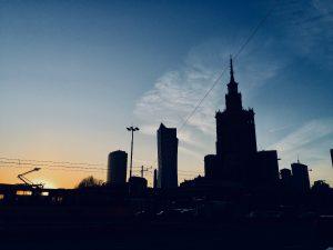 Der Kultur- und Wissenschaftspalast, das bekannteste Wahrzeichen Warschaus. © Emilia Butynski
