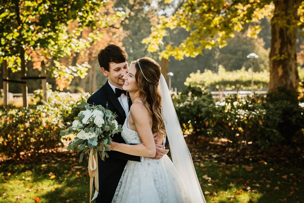 Das frisch vermählte Brautpaar. © Perfect View Photo & MUA