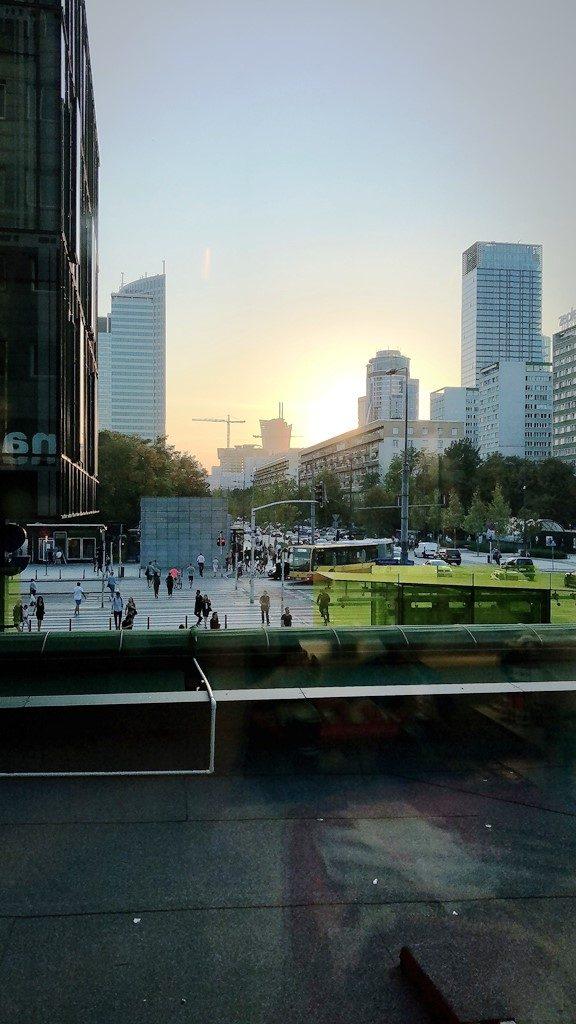 Back to the future! – Das stetig wachsende Zentrum Warschaus.