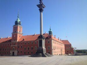 Die Warschauer Altstadt ist selten so leer wie auf diesen Bild. © Lara Verschragen