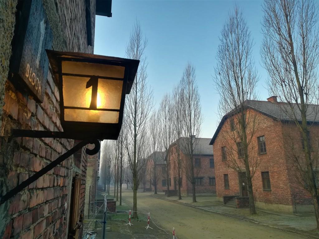 Block 1 im Museum Auschwitz-Birkenau. © René Wennmacher
